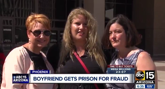 These women informed police about the online dating scammer, who ended up pilfering more than $1 million from his victims.