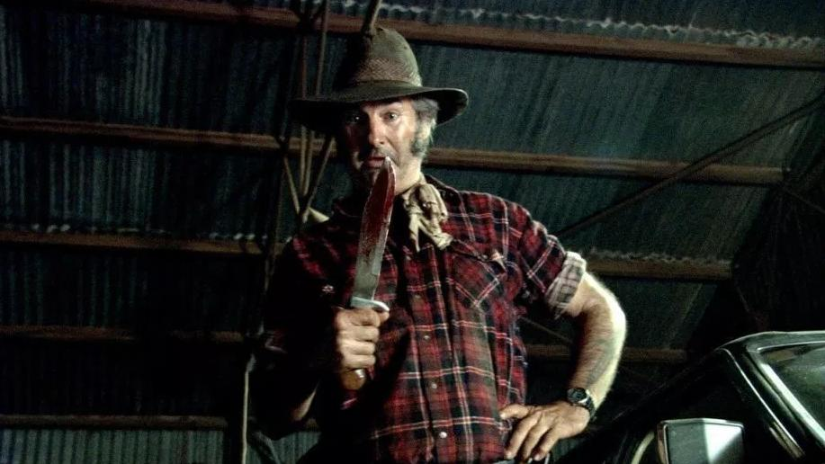 John Jarratt played the role of Outback serial killer Mick Taylor in the 2005 horror film