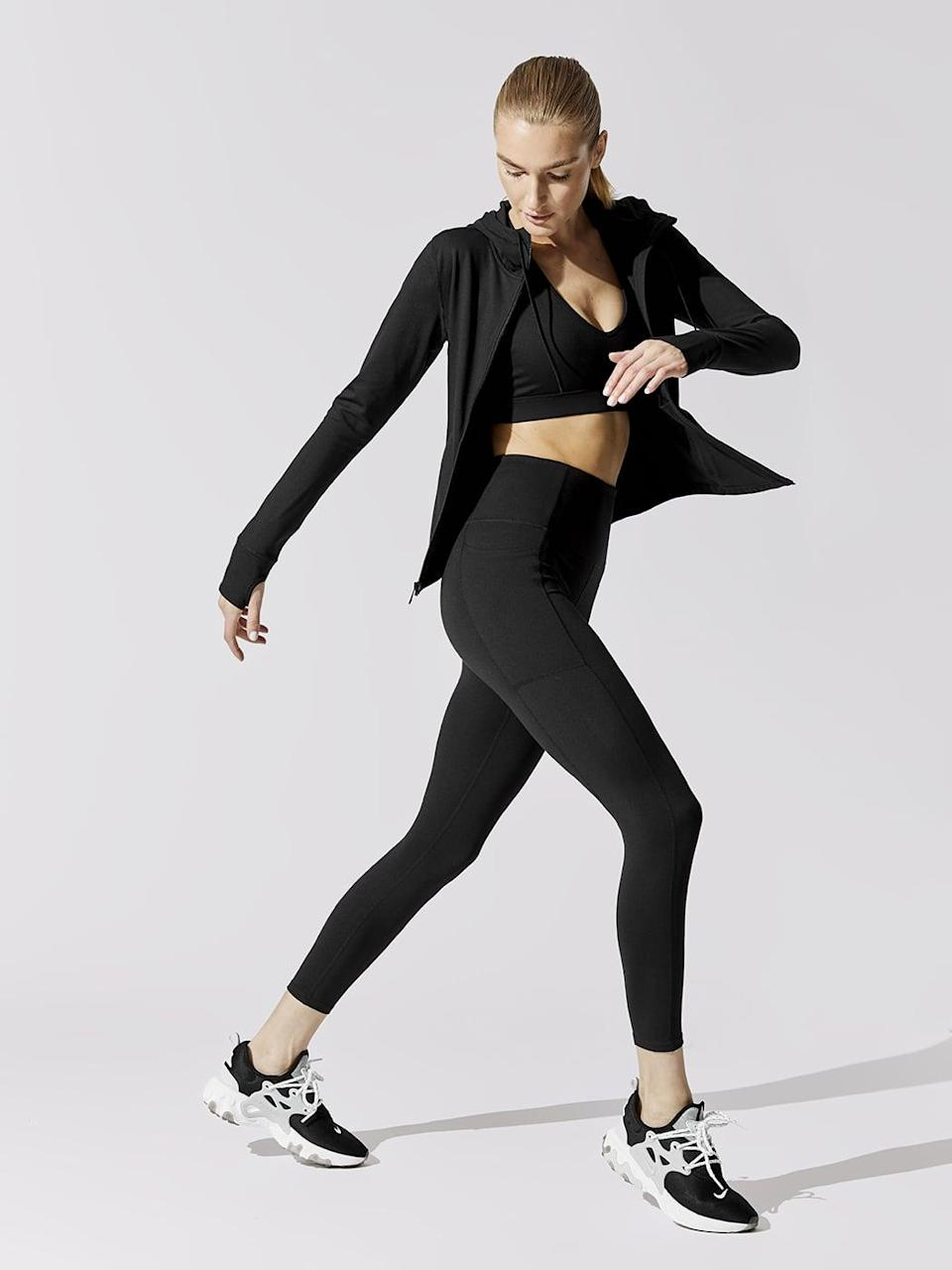 <p>Get moving in these essential <span>Carbon38 High Rise Full-Length Legging With Pockets in Cloud Compression</span> ($98).</p>