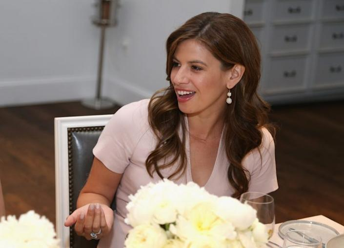 Journalist Michelle Fields at the Glamour and Facebook brunch to discuss sexism in April. (Photo: Paul Morigi/Getty Images for Glamour)