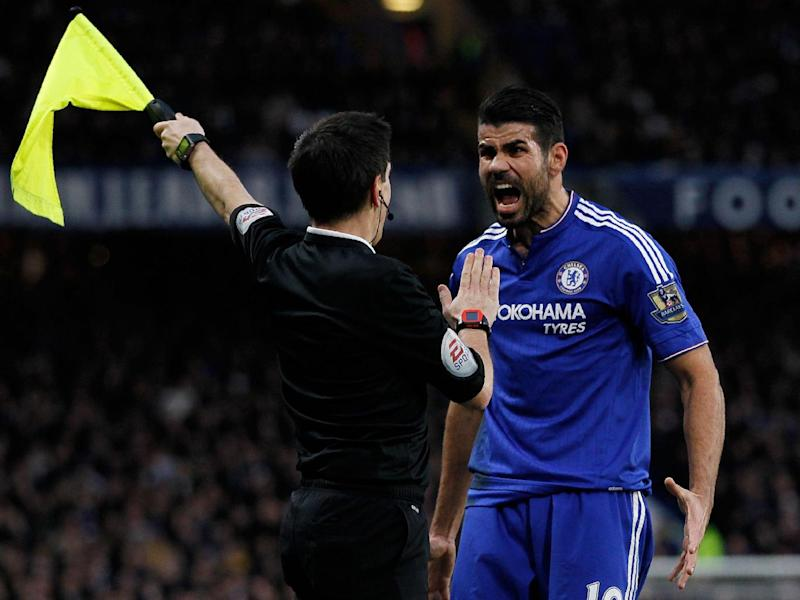 Costa is guaranteed to make a nuisance of himself whatever the game (Getty)