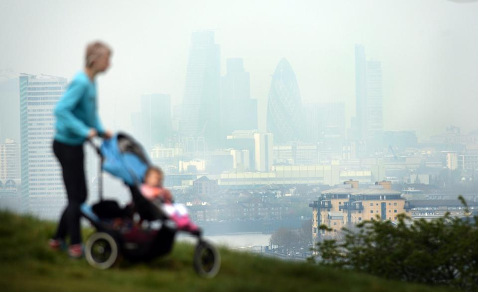 Higher levels of air pollution have been linked to a higher risk of dementia (Stefan Rousseau/PA) (PA Archive)