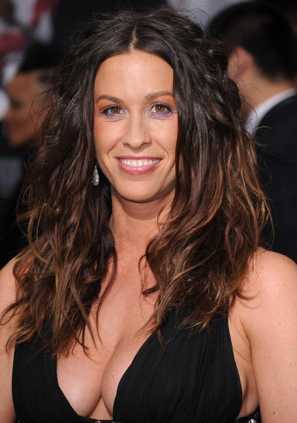 """<p>They say that musical abilities run in the family and for Alanis and her twin brother, Wade, it's true. Many people don't know that Alanis and Wade have collaborated together over the years. Wade also works as a yoga instructor and <a href=""""https://layoga.com/entertainment/music/musical-twins-wade-imre-and-alanis-morissette-share-song-and-yoga/"""" rel=""""nofollow noopener"""" target=""""_blank"""" data-ylk=""""slk:introduced his twin sister"""" class=""""link rapid-noclick-resp"""">introduced his twin sister</a> to the practice.</p>"""