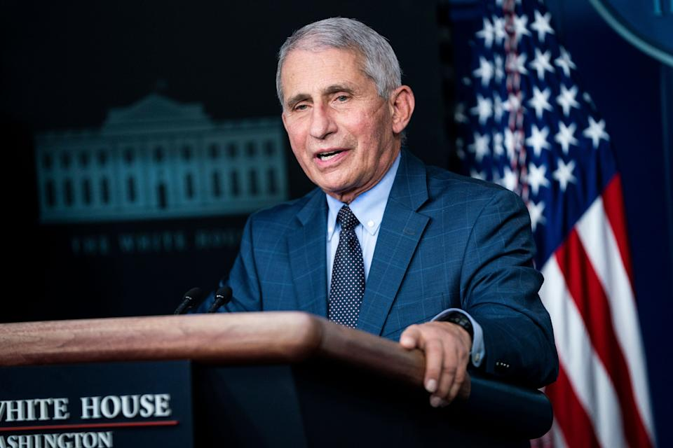 <strong>Director of the National Institute of Allergy and Infectious Diseases, Anthony Fauci.</strong> (Photo: The Washington Post via Getty Images)