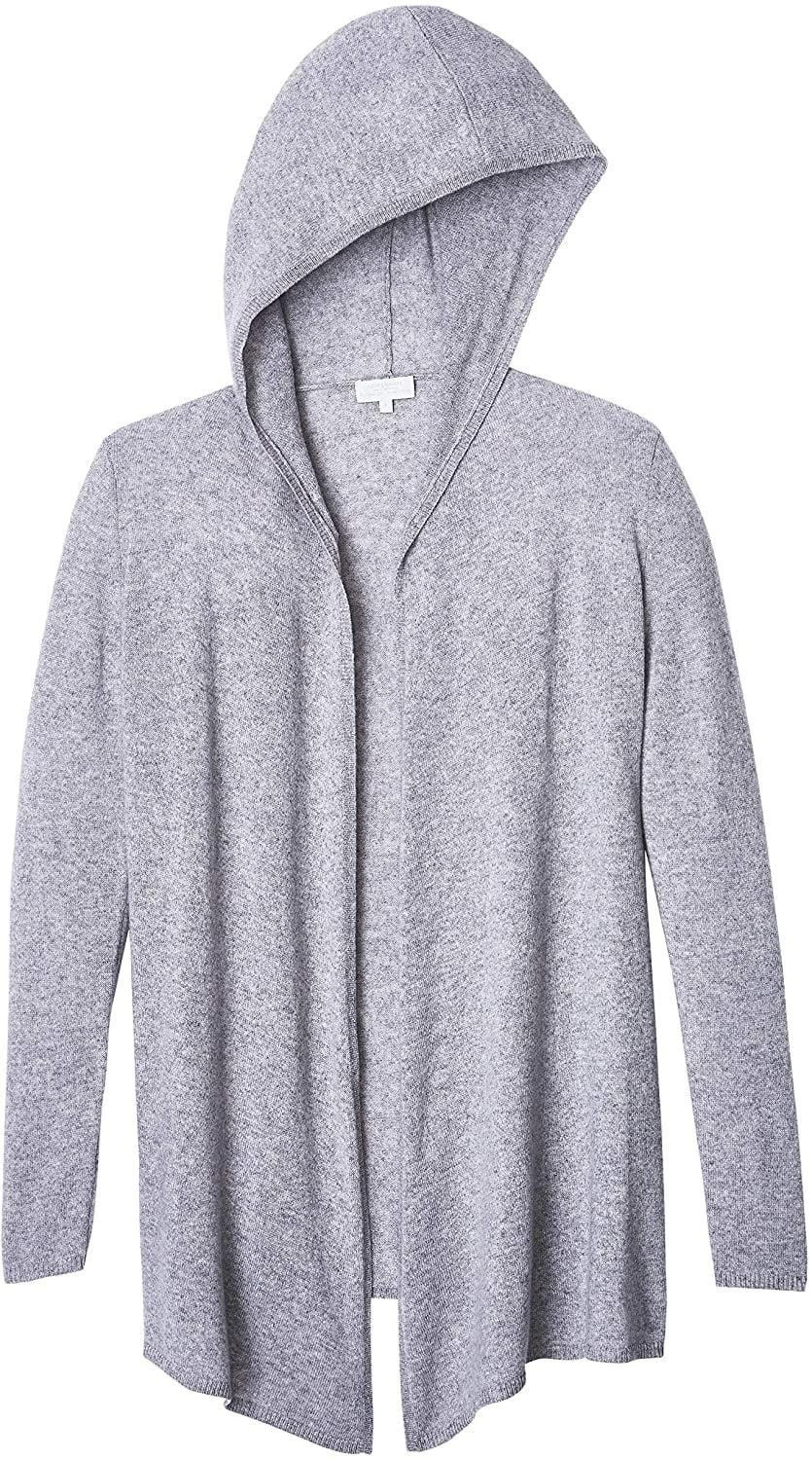 <p>The <span>Alpine Cashmere 100% Cashmere Casual Hoodie</span> ($264) is so cozy and perfect for layering.</p>