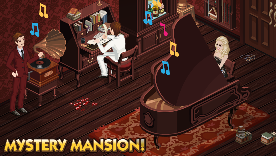 The Sims Social Mystery Mansion