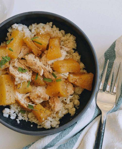 PHOTO: Brittany Williams' Instant Pot chicken. (InstantLoss.com)