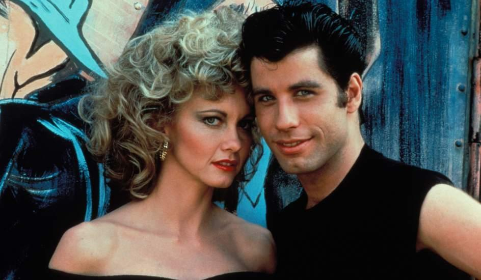 Olivia Newton-John and John Travolta in<em> Grease</em> (Paramount)