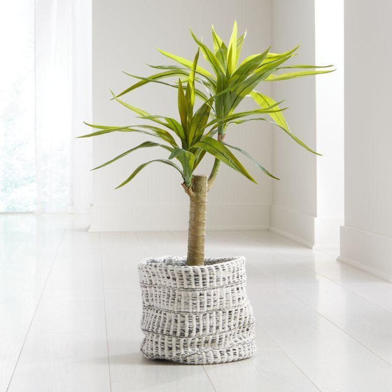 """<p><strong>crate and barrel</strong></p><p>crateandbarrel.com</p><p><strong>$149.00</strong></p><p><a href=""""https://go.redirectingat.com?id=74968X1596630&url=https%3A%2F%2Fwww.crateandbarrel.com%2Fpotted-artificial-yucca%2Fs291531&sref=https%3A%2F%2Fwww.womenshealthmag.com%2Flife%2Fg34483134%2Fbest-fake-plants%2F"""" rel=""""nofollow noopener"""" target=""""_blank"""" data-ylk=""""slk:Shop Now"""" class=""""link rapid-noclick-resp"""">Shop Now</a></p><p>Consider this the perfect plant to fill up that empty wall space in the corner. Take a tip from this reviewer who placed it near her real plants: """"Using this palm in a large planter along with live plants. Looks real!!""""</p>"""