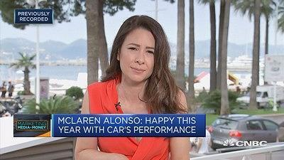 CNBC's Karen Tso spoke with McLaren CEO Zak Brown and driver Fernando Alonso about Formula 1 and the McLaren brand.