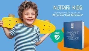 Nutrifii Kids™ chewable multivitamins has been included in The Physicians' Desk Reference® (PDR®), the most widely trusted and used directory of ethical pharmaceutical, biological and diagnostic products published as a service to the medical field.