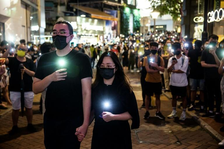 Hong Kongers found other ways to remember the 1989 Tiananmen crackdown in the absence of the traditional vigil in Victoria Park