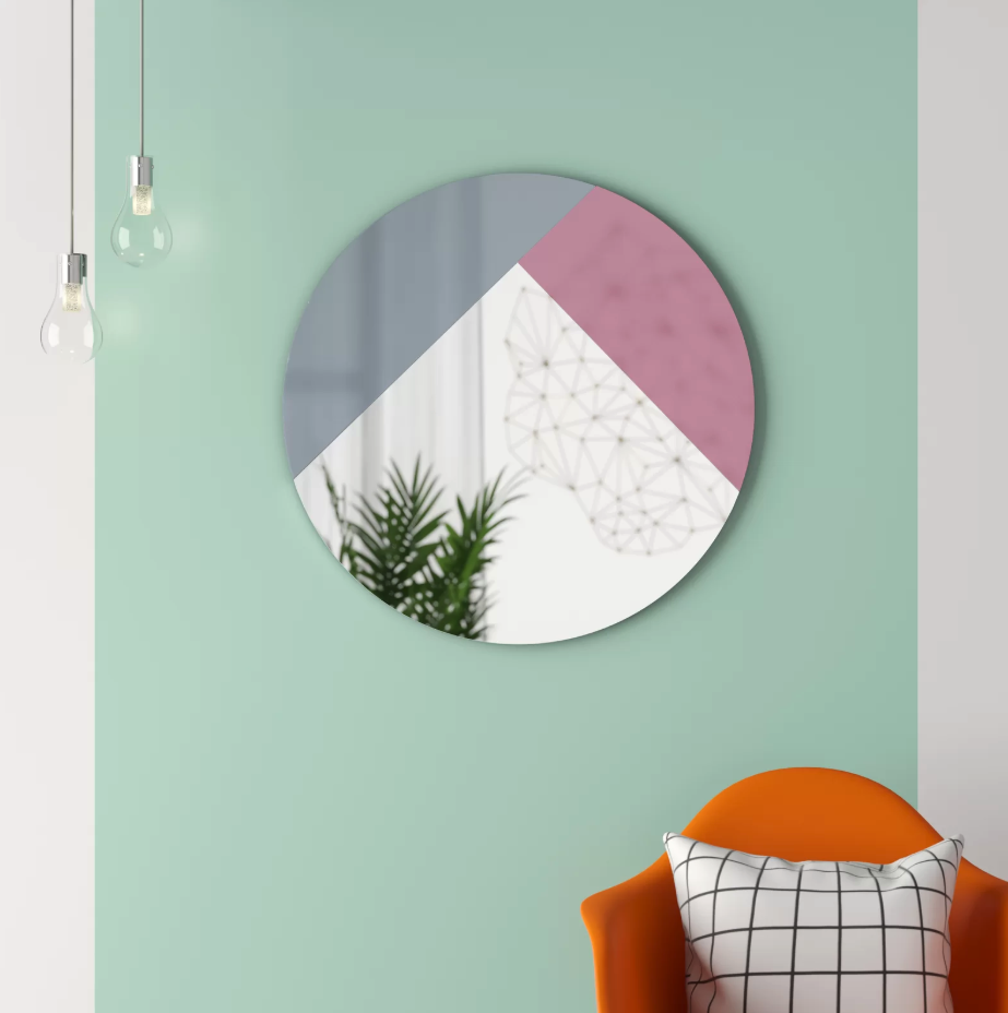 "$185, Wayfair. <a href=""https://www.wayfair.com/decor-pillows/pdp/hashtag-home-lidiya-modern-and-contemporary-accent-mirror-w001466719.html"">Get it now!</a>"