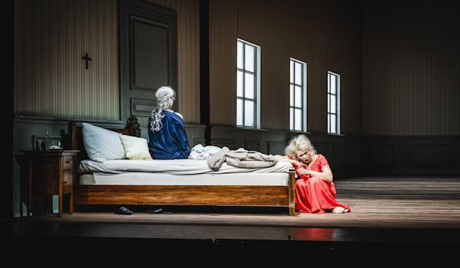 Issues raised in the opera, such as human choice, hidden conflicts, the price of success and the possibility of reconciliation and forgiveness, are all too familiar to a city suffering from the trauma of violence and unrest since June. Photo: Jonas Persson
