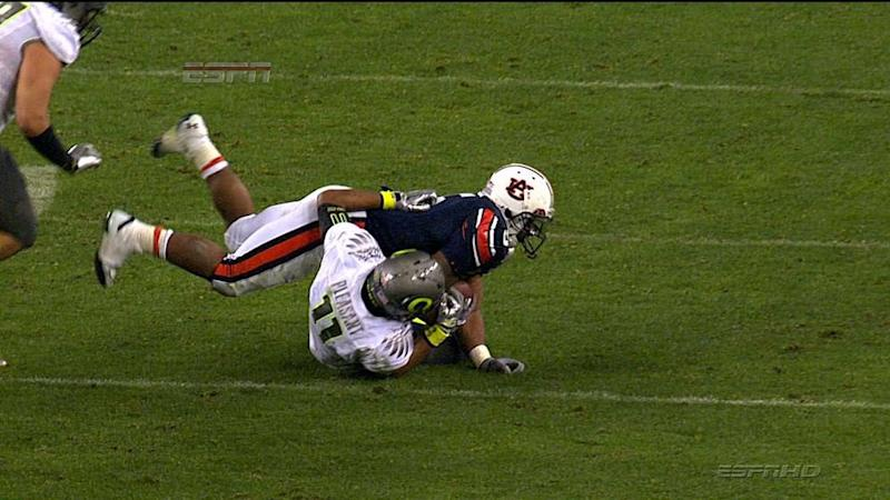 It's been nine years and Michael Dyer was still down