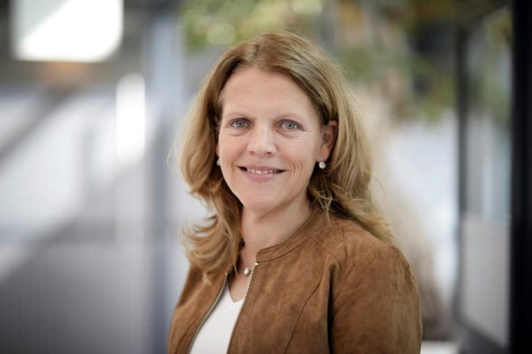 Dutch virologist Hanneke Schuitemaker, global head of viral vaccine discovery at Johnson & Johnson's subsidiary Janssen, oversaw the development of an Ebola vaccine that has just received European approval (AFP Photo/-)