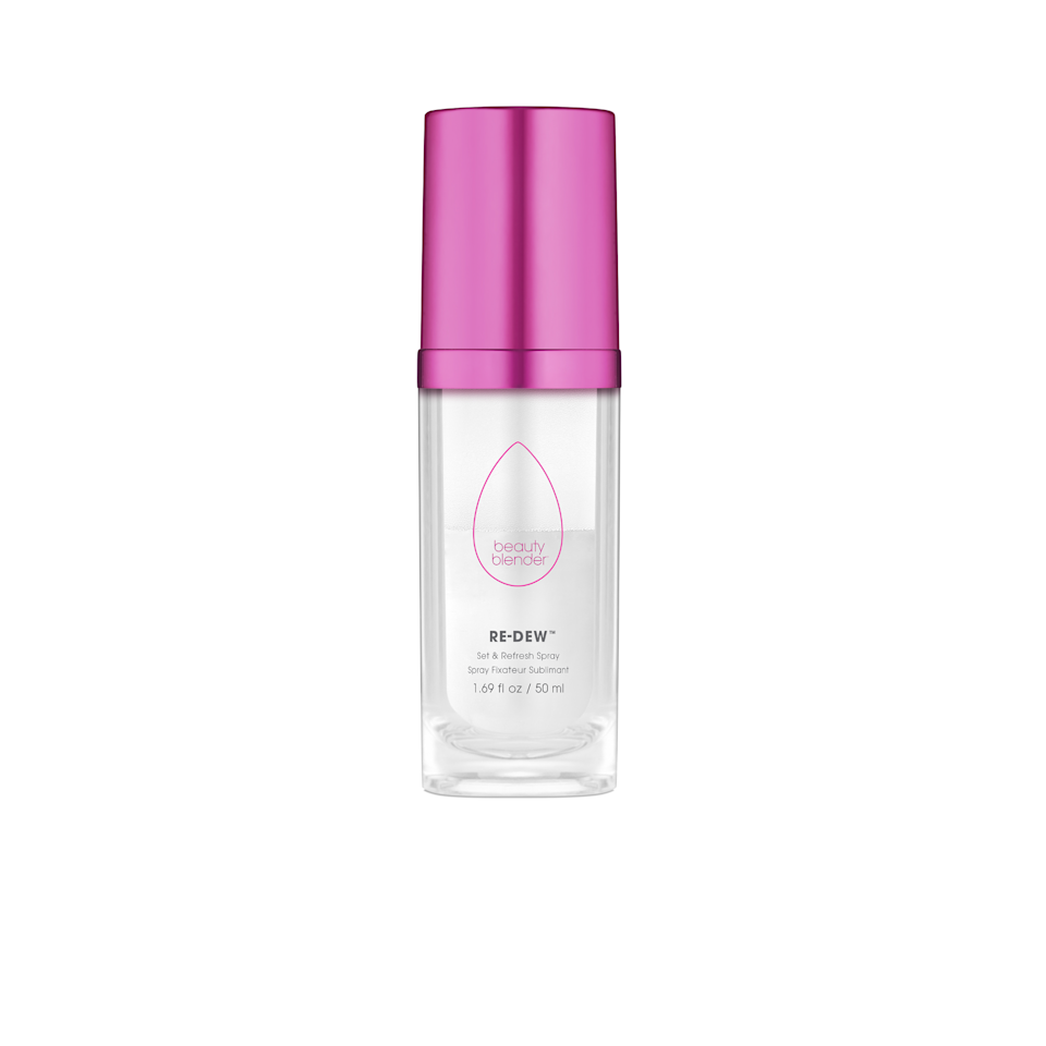 """<p>From the brand that brought you one of our favorite makeup applicators of all time (it's won a <a href=""""https://www.allure.com/review/beauty-blender-sponge?mbid=synd_yahoo_rss"""">Best of Beauty Award</a> countless years in a row), comes this face mist, which promises to render makeup touch-ups obsolete. The two-phase solution combines hyaluronic acid and antioxidant-enriched water with a milky oil that, when mixed and spritzed on the skin, delivers just the right amount of moisture and radiance to revive any existing makeup.</p> <p>$32 (<a href=""""https://shop-links.co/1662622720510354322"""" rel=""""nofollow"""">Shop Now</a>)</p>"""