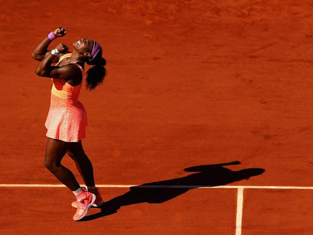 The American's clay court game is vastly improved (Getty)