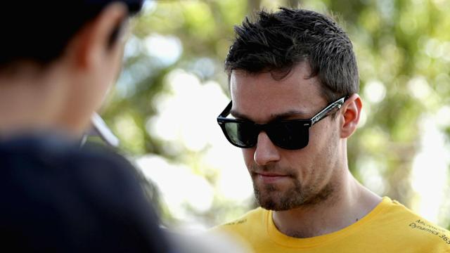 "Assessing his car's performance, Jolyon Palmer said: ""The brakes are terrible, the balance is pretty horrible and the traction is terrible."""