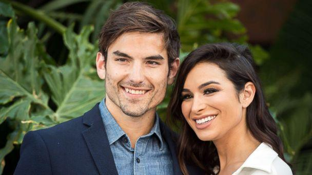 PHOTO: 'Bachelor In Paradise' contestants Jared Haibon and Ashley Iaconetti attend the premiere of 'Jurassic World: Fallen Kingdom' on June 12, 2018, in Los Angeles. (Robyn Beck via AFP/Getty Images)