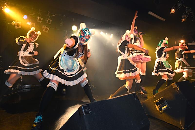 """Japan's """"Virtual Currency Girls"""" Debut Concert Pays Off"""