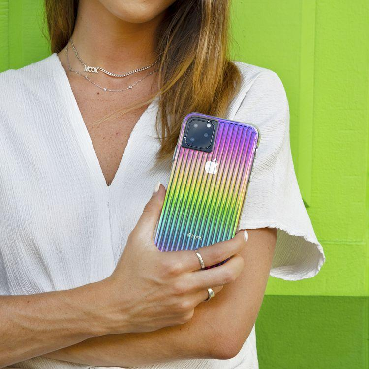 Case Mate iPhone 11 Pro Max Tough Groove - Iridescent. (PHOTO: Lazada)