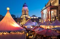 """Germany is known around the world for its <a href=""""https://www.cntraveler.com/gallery/the-best-christmas-markets-in-germany?mbid=synd_yahoo_rss"""" rel=""""nofollow noopener"""" target=""""_blank"""" data-ylk=""""slk:Christmas markets"""" class=""""link rapid-noclick-resp"""">Christmas markets</a>—its capital city alone has more than 60 of them, including the incredibly picturesque WeihnachtsZauber, which is surrounded by landmarks like Französischer Dom and the Konzerthaus. But don't think that <a href=""""https://www.cntraveler.com/destinations/berlin?mbid=synd_yahoo_rss"""" rel=""""nofollow noopener"""" target=""""_blank"""" data-ylk=""""slk:Berlin"""" class=""""link rapid-noclick-resp"""">Berlin</a>'s wintery appeal starts and ends with the holidays. Travelers can enjoy the city's <a href=""""https://www.cntraveler.com/gallery/best-restaurants-in-berlin?mbid=synd_yahoo_rss"""" rel=""""nofollow noopener"""" target=""""_blank"""" data-ylk=""""slk:Michelin-starred restaurants"""" class=""""link rapid-noclick-resp"""">Michelin-starred restaurants</a>, buzzing nightclubs, and <a href=""""https://www.cntraveler.com/gallery/best-museums-in-berlin?mbid=synd_yahoo_rss"""" rel=""""nofollow noopener"""" target=""""_blank"""" data-ylk=""""slk:edgy museums"""" class=""""link rapid-noclick-resp"""">edgy museums</a> well into the new year, sans the summer crowds."""