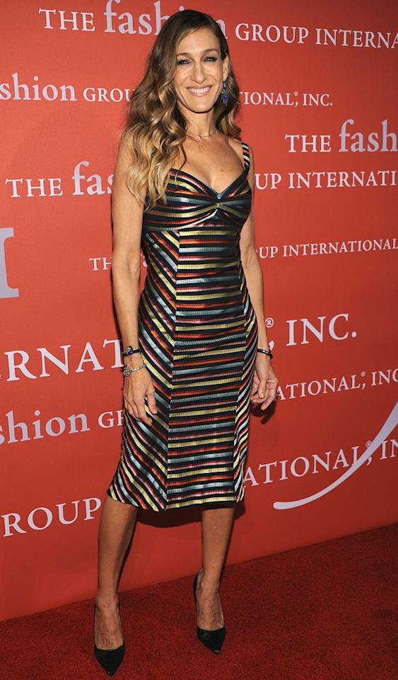 NEW YORK, NY - OCTOBER 25:  Sarah Jessica Parker attends the 29th Annual Fashion Group International Night Of Stars at Cipriani Wall Street on October 25, 2012 in New York City.  (Photo by Dimitrios Kambouris/Getty Images)