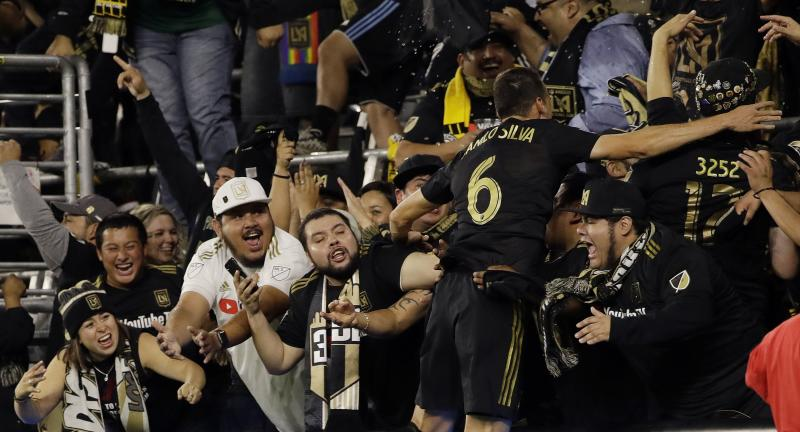 d4cb0a49692 LAFC eliminated after fans delay MLS playoff match