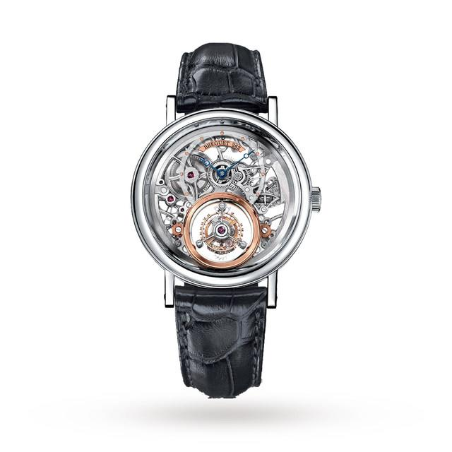 Thiecves stole a Breguet Tourbillon watch - similar to the one pictured above - worth a reported £115,000