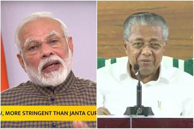 The difference in the way Modi and Pinarayi handled announcement of lockdowns