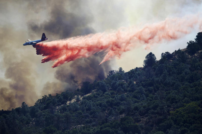 SF Bay Area wildfire threatens 100 homes