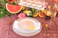 <p>No matter what time of year it is, fill your future bride's day with sweet treats, bright colors, and fun-filled events. A fresh fruit platter, chic accessories, and a charming afternoon are sure to make this party one to remember.</p>