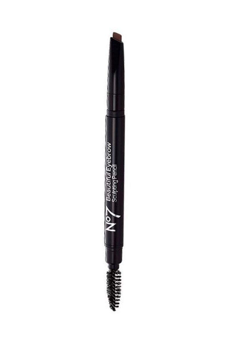 With three shades to choose from (blonde, brown, and gray), No7's Beautiful Brow Pencil ($10) is hypo-allergenic and handily double-sided so brows will look equal parts full and sculpted.
