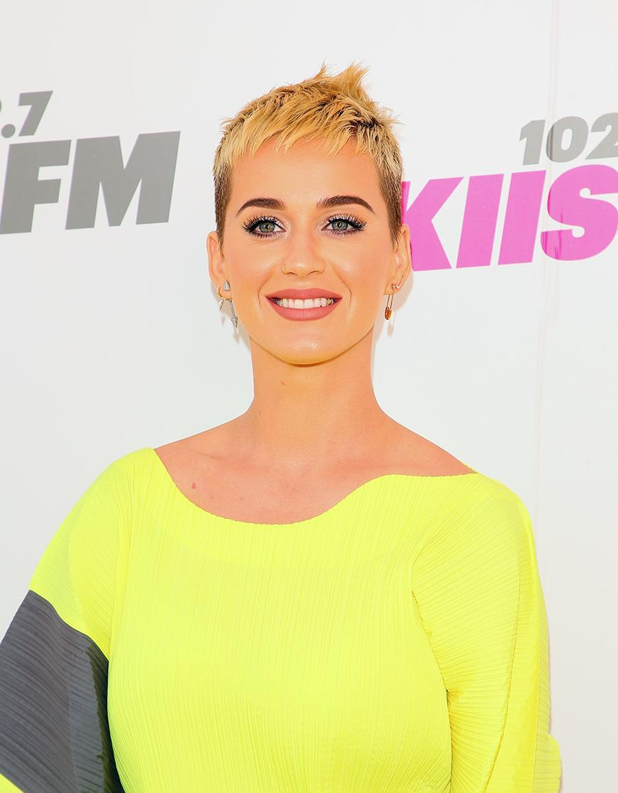<p>Whether her hair is spiked, colored, or swept to the side, Katy Perry knows how to keep all eyes on her with an eclectic cool cut. (Photo: WireImage) </p>