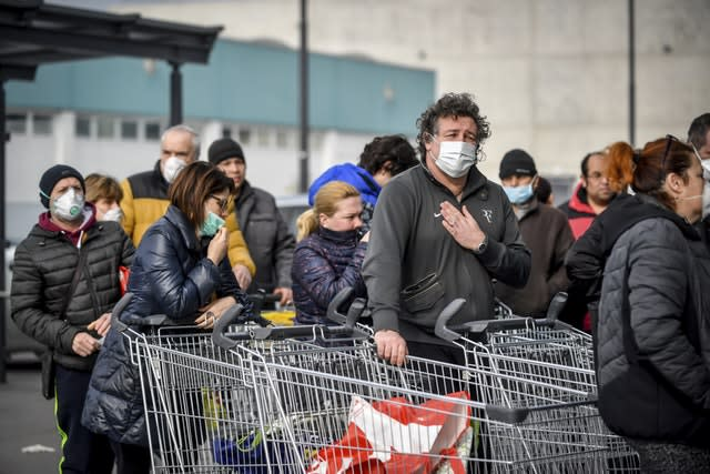 Italy China Outbreak Europe