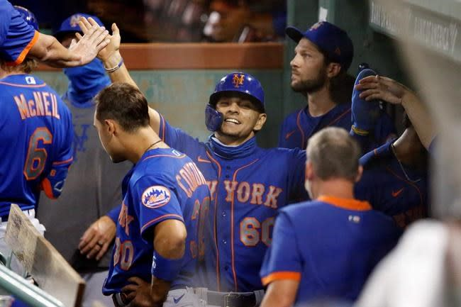 Peterson wins MLB debut, Mets beat Red Sox 8-3