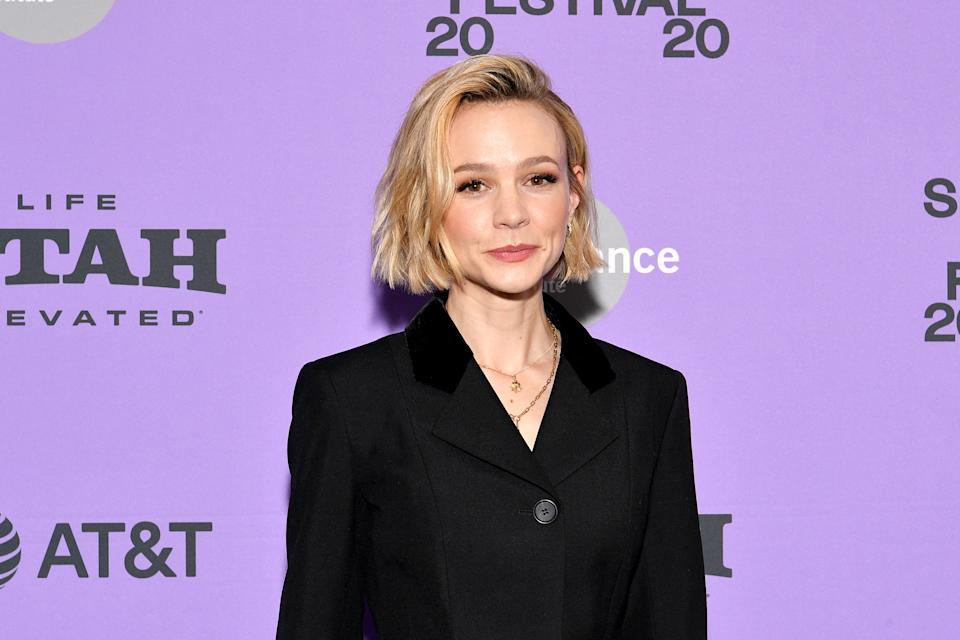 "Carey Mulligan attends the premiere of ""Promising Young Woman"" at the Sundance Film Festival on January 25, 2020. (Photo by Dia Dipasupil/Getty Images)"