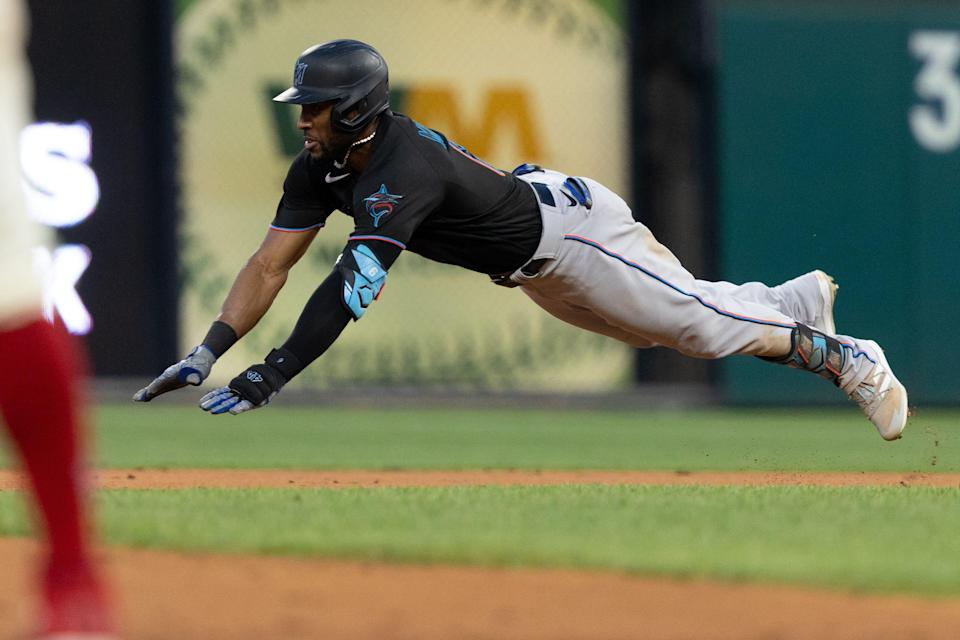 Starling Marte has 21 steals in 2021.