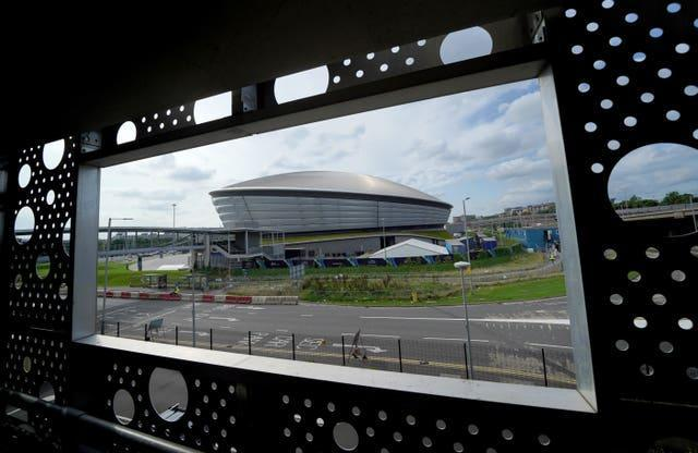 A general view of The SSE Hydro on the Scottish Event Campus in Glasgow