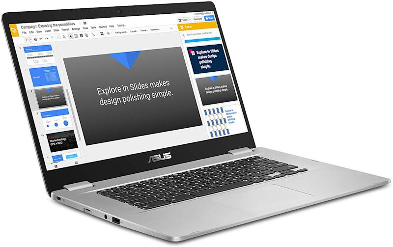 "Asus 14"" Chromebook HD NanoEdge Display with 180 Degree Hinge"