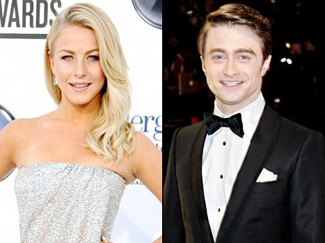 Julianne Hough: I Was Snubbed by Daniel Radcliffe on Valentine's Day!