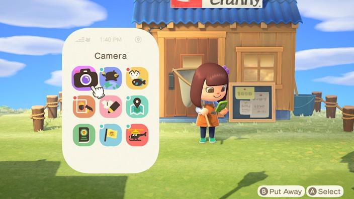 Animal Crossing Smartphone