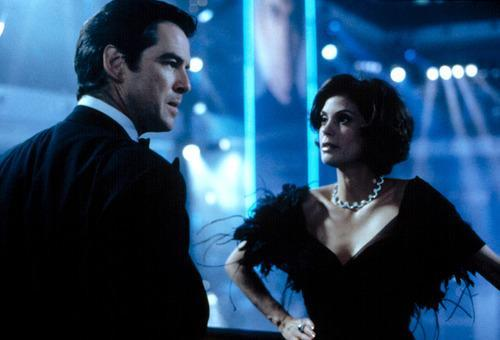 """Pierce Brosnan & Teri Hatcher – 'Tomorrow Never Dies' (1998) It's not like Bond to forge lasting relationships with his female partners, so 007 actor Pierce Brosnan took that to heart when it came to working with 'Tomorrow Never Dies' Bond girl Teri Hatcher. The soon-to-be Desperate Housewife was apparently not the best timekeeper, although it later turned out that she was pregnant and was suffering from morning sickness. """"I got very upset with her,"""" said Brosnan in 2005. """"She was always keeping me waiting for hours. I must admit I let slip a few words which weren't very nice."""" It's not like James Bond ever mistreated a woman, is it?"""