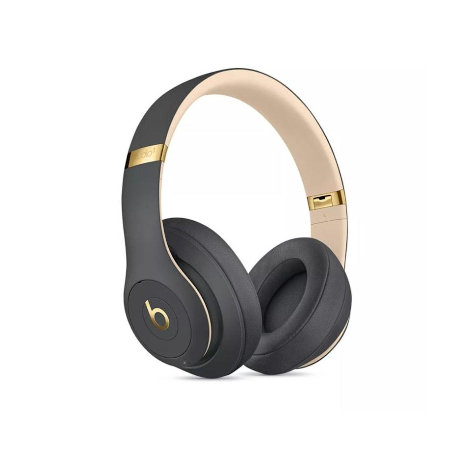 "For the one who'll be working from home for the foreseeable future, these headphones are noise canceling <em>and</em> supremely comfortable. $175, Target. <a href=""https://www.target.com/p/beats-studio3-wireless-over-ear-noise-canceling-headphones/-/A-52960608"" rel=""nofollow noopener"" target=""_blank"" data-ylk=""slk:Get it now!"" class=""link rapid-noclick-resp"">Get it now!</a>"