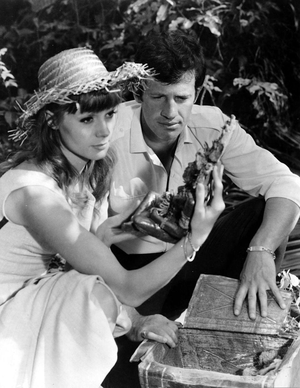 <p>A scene with Françoise Dorléac in That Man from Rio, 1964</p>