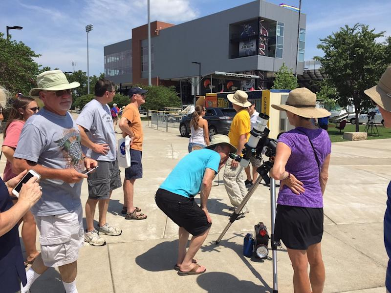 Solar Eclipse Festivities at Southern Illinois University