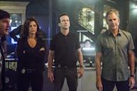 <p><strong><em>NCIS: New Orleans </em><br><br></strong>This spinoff is set in the Big Easy, and stars Scott Bakula investigating military crimes. <br></p>