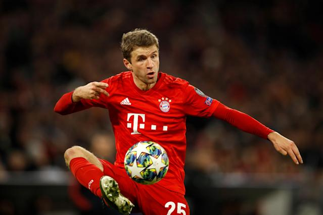 Thomas Muller and Bayern Munich's Bundesliga play has not been good this season. (Photo by ODD ANDERSEN/AFP via Getty Images)