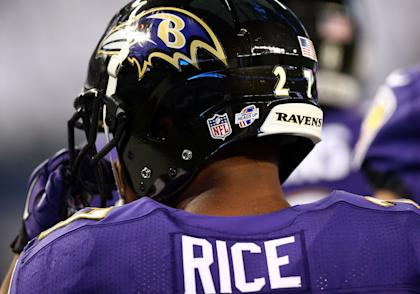Ray Rice's two-game suspension didn't go over well with many NFL fans. (Getty Images)